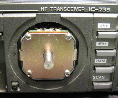 Icom IC-735 VFO Encoder Repair
