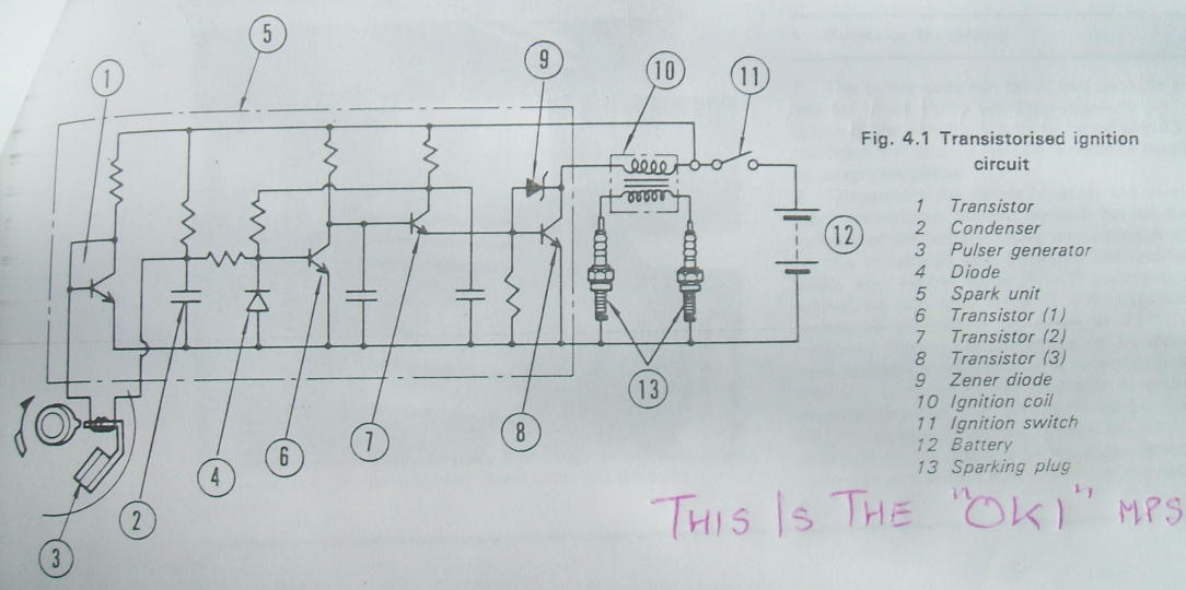 Transistorized ignition (NEC MC-5194) on