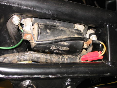 The Wire Harness Ground Is Green With Ring Terminal A Solid Connection From To Frame Bare Metal Essential Here